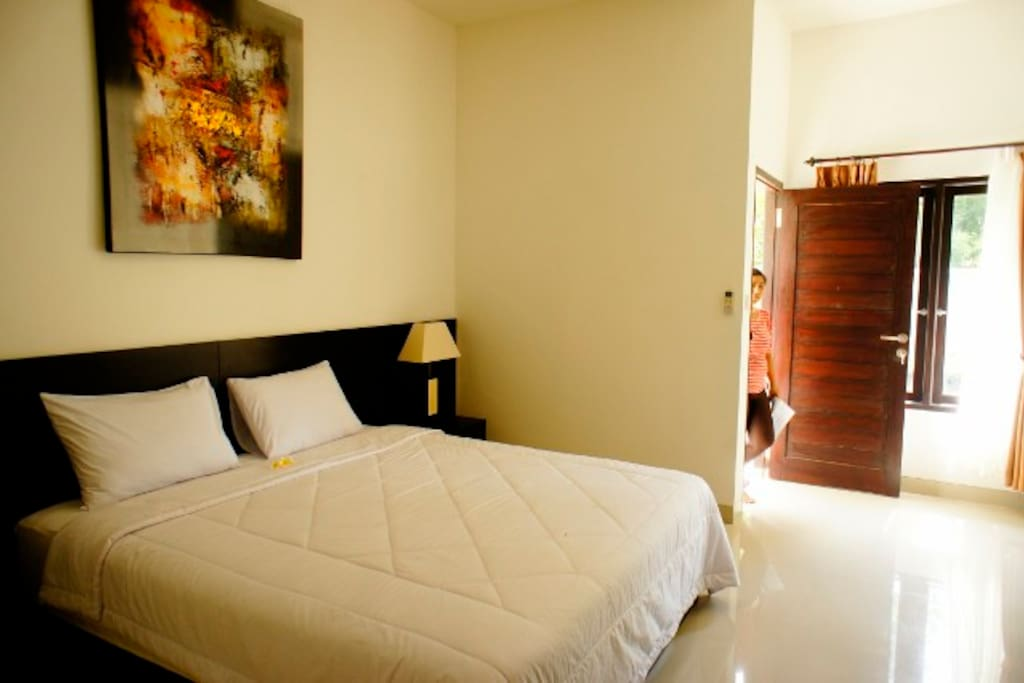 Bright and clean room for your stay!