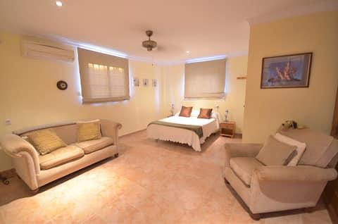 Private Studio apartment for two in Algodonales.