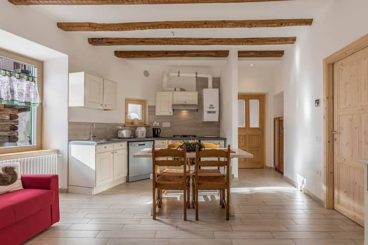 """Cozy Holiday Apartment """"Casa di Ada"""" with Mountain View & WiFi; Parking Available in the Street, Pets Allowed"""