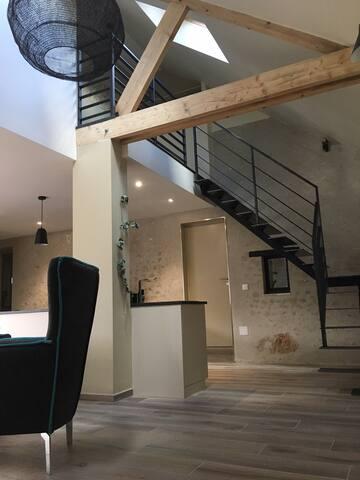 Spacieux Loft Neuf proche Blois Chambord Beauval