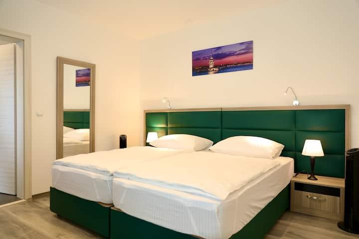 W2, Ferienwohnung mit Klimaanlage 37qm