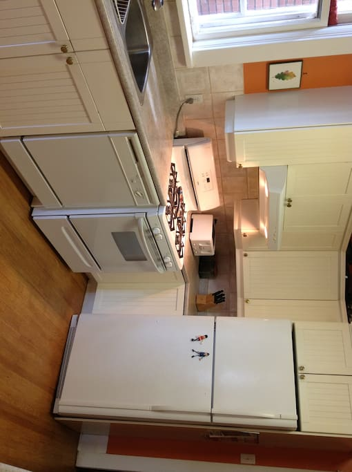 Modern kitchen with gas stove and dishwasher.