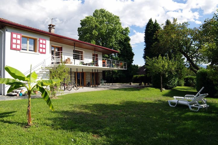 Aix les Bains T3 60m² 3* LAKE VIEW - Viviers-du-Lac - House