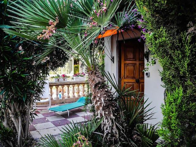 Romantisches Haus für 2 Personen in Strandnähe