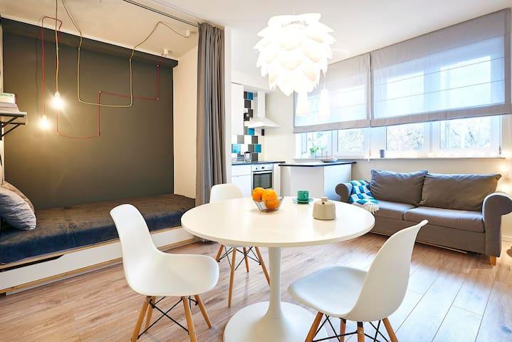 Komfortowe i funkcjonalne studio