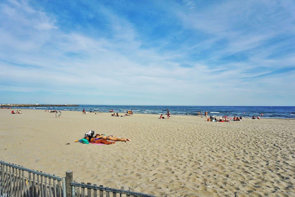 La plage à proximité