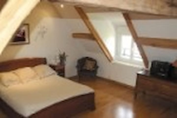 Belle chambre proche Euro disney - La Houssaye-en-Brie - Bed & Breakfast