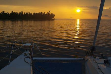 chambres d'hotes sur catamaran  - Portobelo