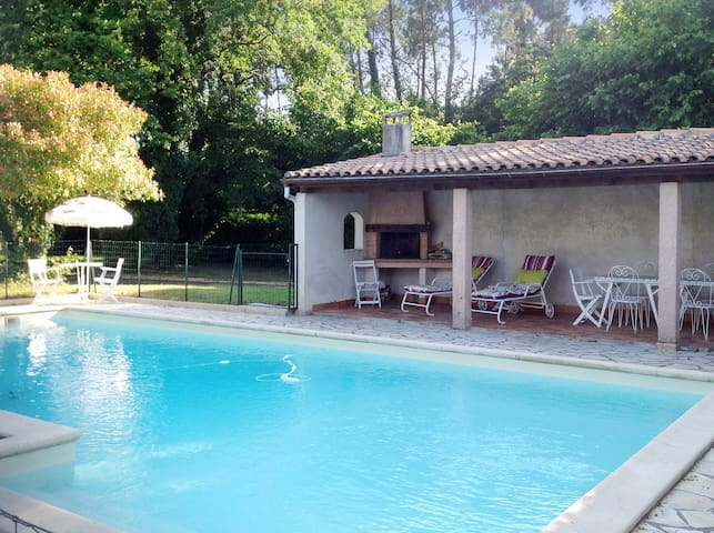 House with large pool and garden - Casteljaloux - Vila