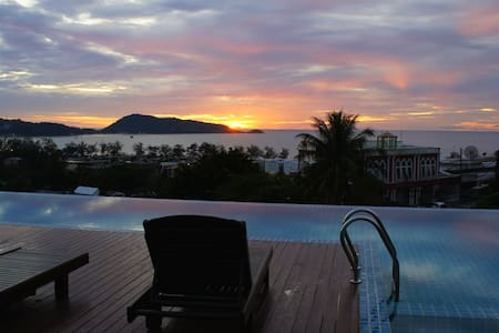 Sea view apartment in Unity Patong - 芭東(Patong)