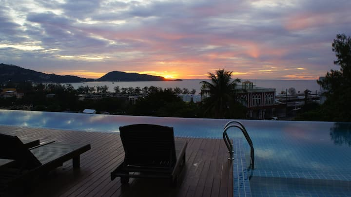 Sea view apartment in Unity Patong