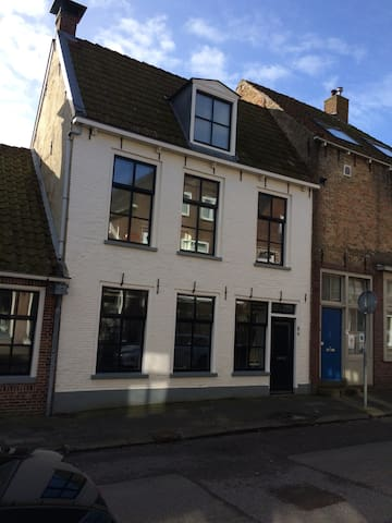 apartment with sunny roof terrace - Harlingen