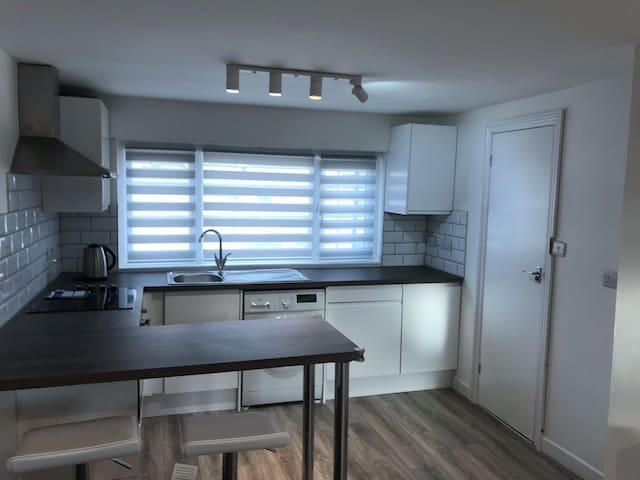 Modern loft flat