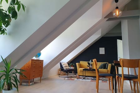 Nice penthouse within walking distance of the city