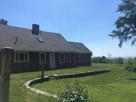 100 Acres & 50-Mile Views at Shaker Mountain Farm
