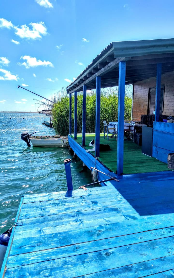 Tropical Island House ☀ Huge Terrace ☀ Ada Bojana