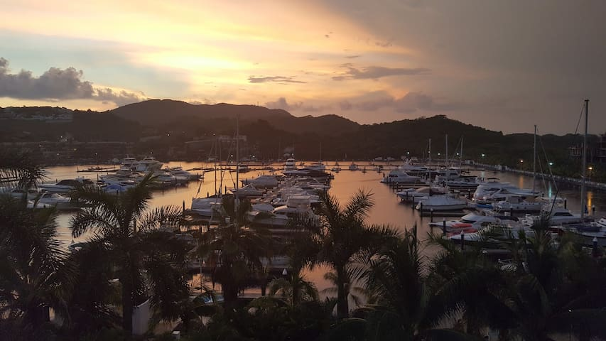 New one bedroom condo with a view in Ixtapa