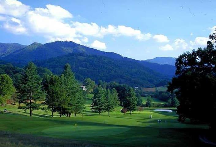 Hemlock Mtn Villa in Canton/Springdale Golf Course