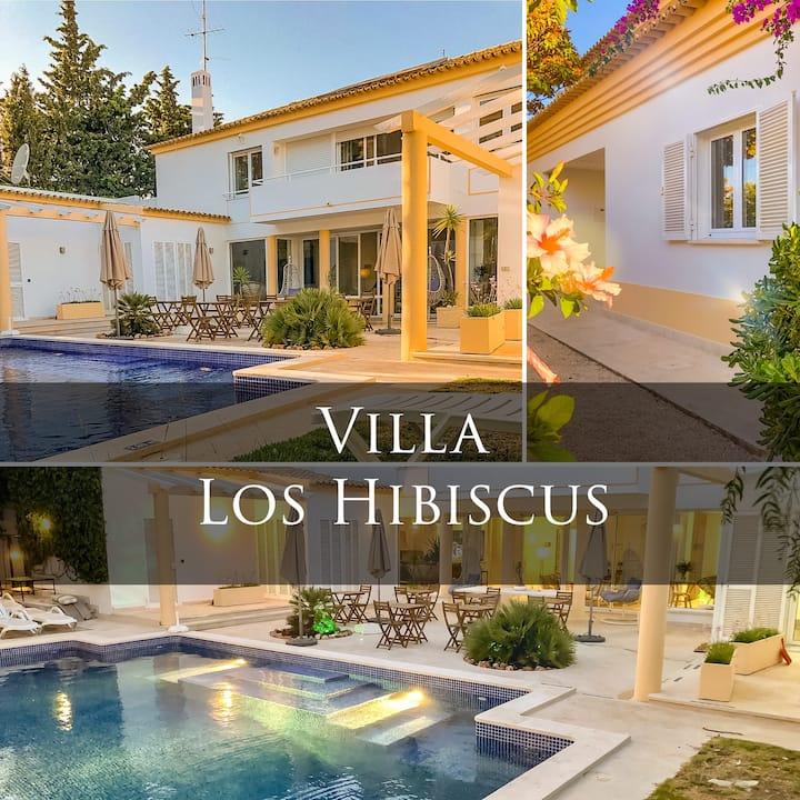 Charming Villa Los Hibiscus - Central Albufeira