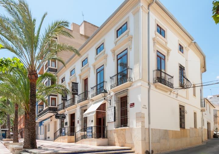 El Olivo - Double room with small kitchen - Rural House - Casa Entre Viñas - Aspe/Alicante
