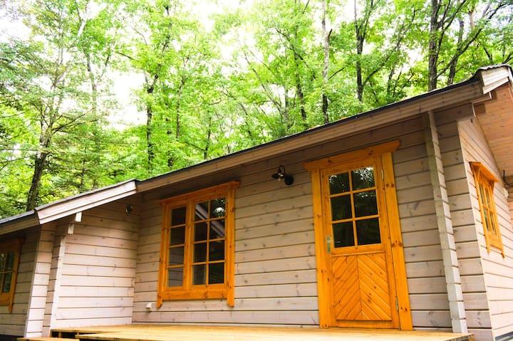 2020年11月新築オープン!森の小さな小屋暮らし MORIKOYA 北軽井沢