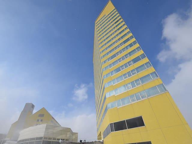 安比 リフト券付 憧れのタワー セミスイート 上層階 ゲレンデ前 禁煙 - Hachimantai - Hotel butikowy