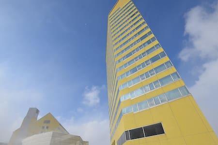 安比 リフト券付 憧れのタワー セミスイート 上層階 ゲレンデ前 禁煙 - Hachimantai - Boutique-hotell