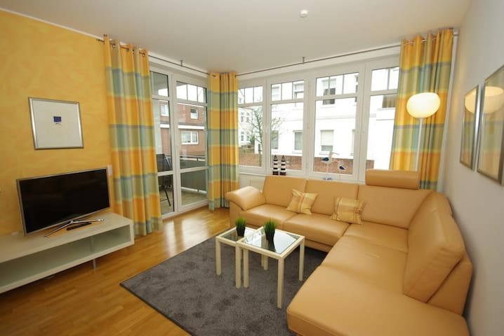Vinkelau Norderney -> FeWo 2 (70m²) - Apartments for Rent in ...