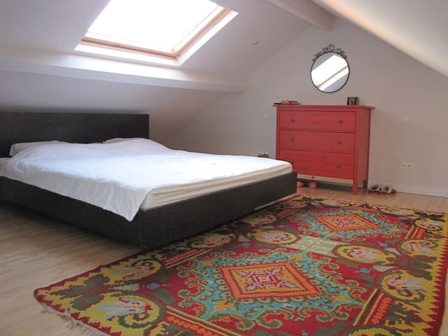 Cosy room close to the EU quarter - Schaerbeek - Apartment