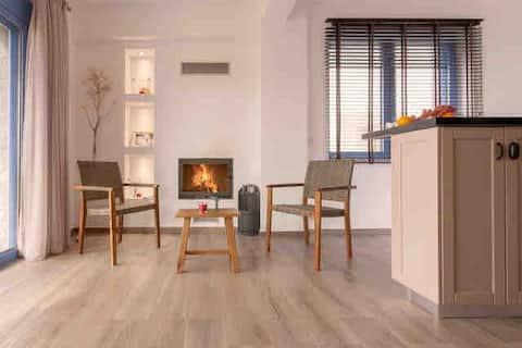 Villa Thalassa: Apartment by the sea in Triopetra