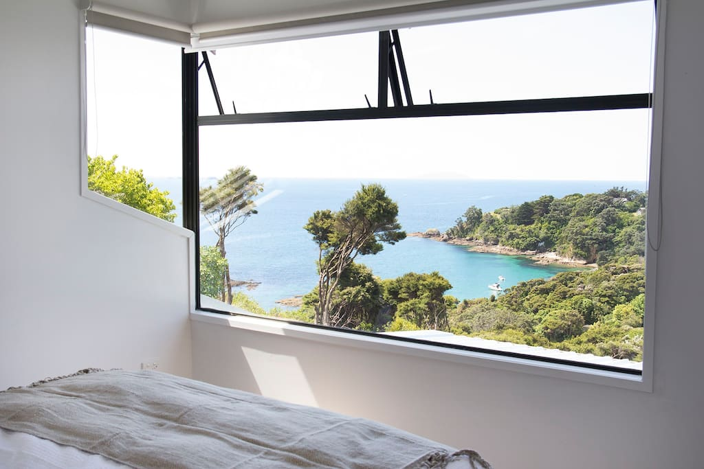 Captivating view from master bedroom