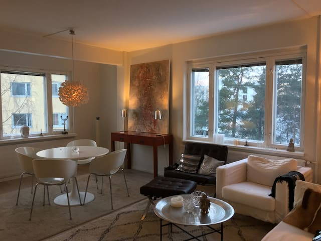 Bright, light and spacious 2 BR in Lauttasaari - Helsinki - Leilighet