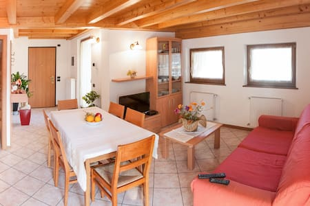 3-ROOMS APT. WITH BIG TERRACE - Alleghe - Flat