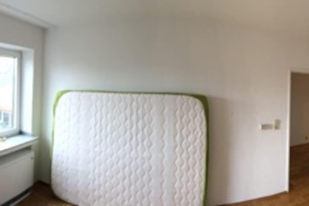 Schlafzimmer, Blick ins Grüne, sehr ruhig