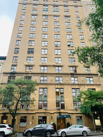 Upper West Side studio 86th Street