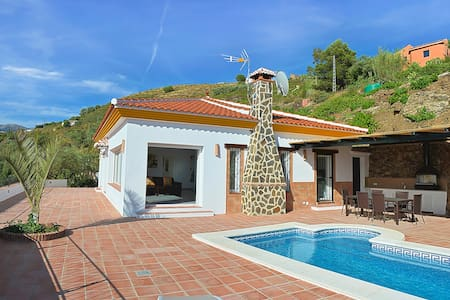 Villa Aurora with private Pool for 6 people - Cómpeta