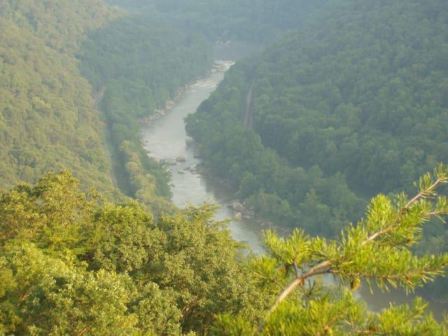 New River Gorge (10 mins)