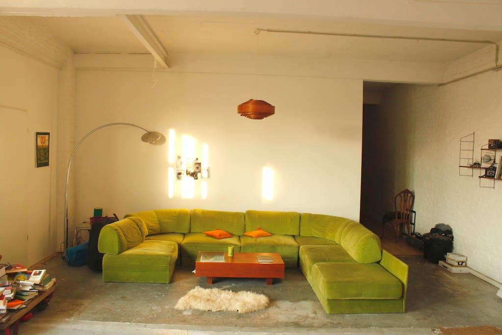 50sqm living room