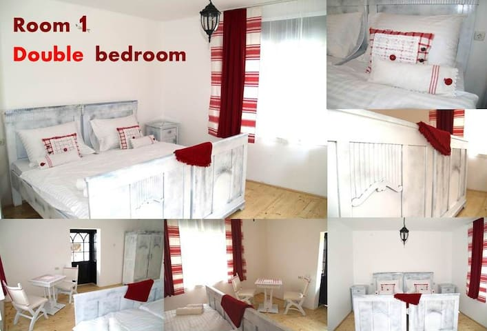 Pannonia Terranova B&B, Double bedroom