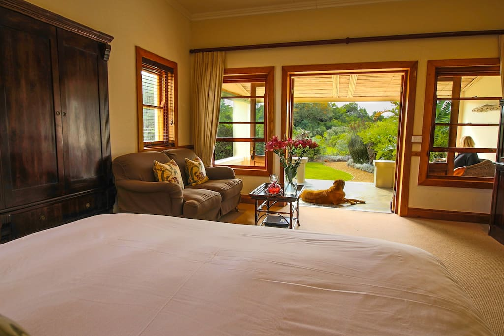 Garden Cottage - These rooms have beautiful garden views.