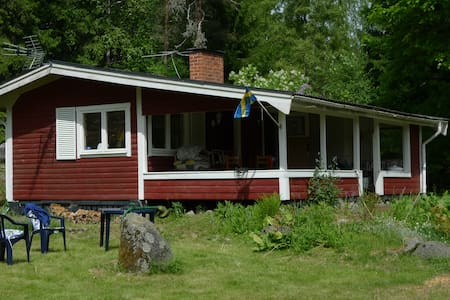 Nostalgic Summer House Near Lake - Svensboda