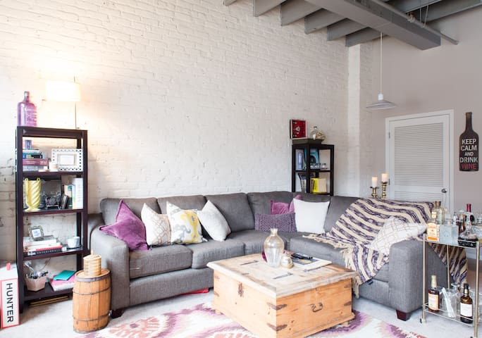 Downtown Omaha -Old Market Loft - Omaha - Daire