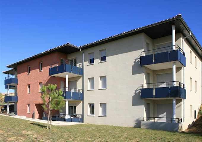 RENT APARTMENT WITH POOL T2 - Auterive - Apartamento