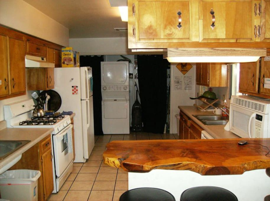 Use our kitchen! Cook your own meals or choose from 10 restaurants in 1 block walk.