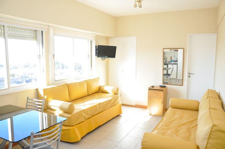 Cozy studio in Recoleta. River view