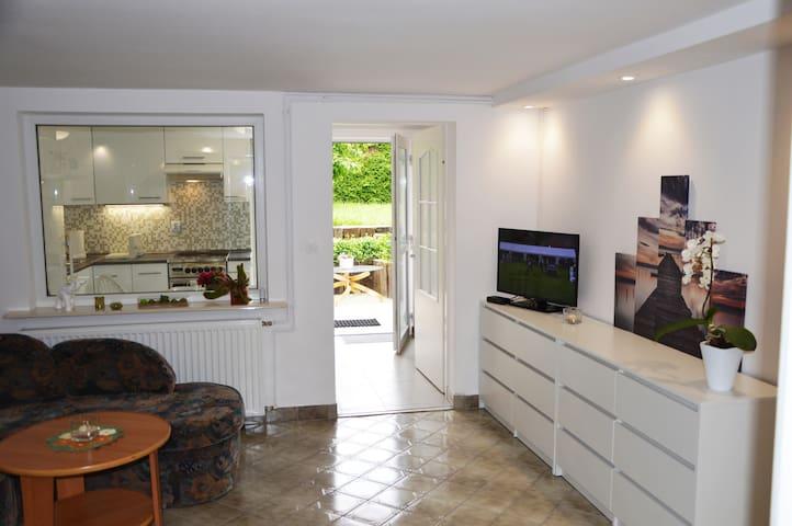 Apartment with garden access