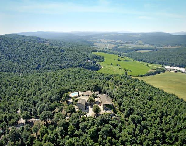 Splendida casa Toscana del 1200 - Siena        sovicille - Departamento