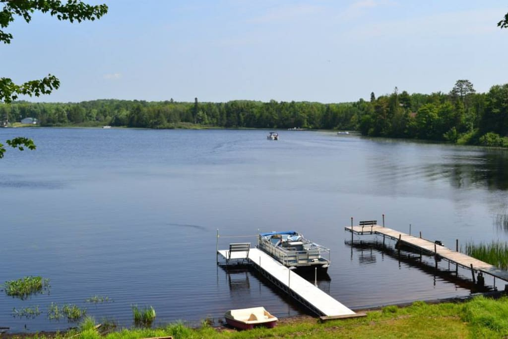 Dock available in the summer months