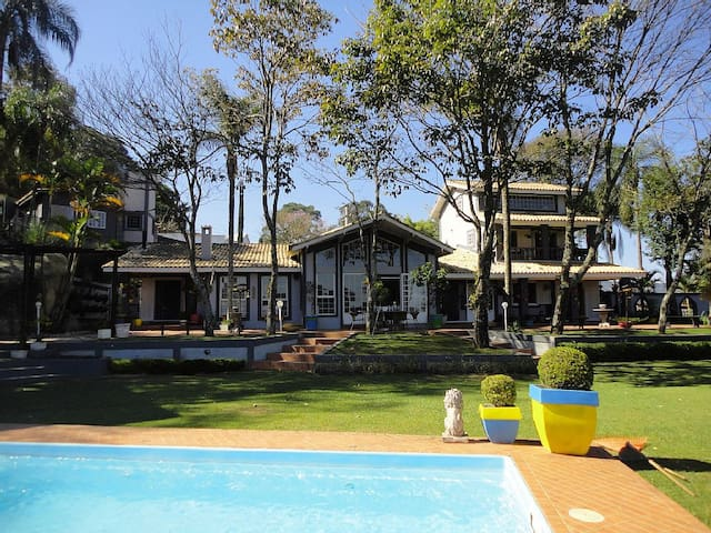 Serra da Cantareira paradisíaca- lindo por do sol - Mairiporã - House