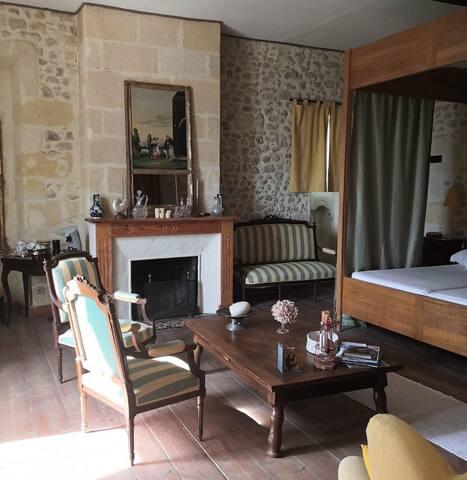 Chambre Aliénor dans Chartreuse XVIII